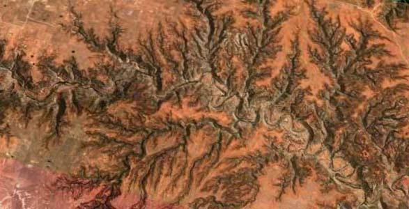 Sabinoso canyons of New Mexico