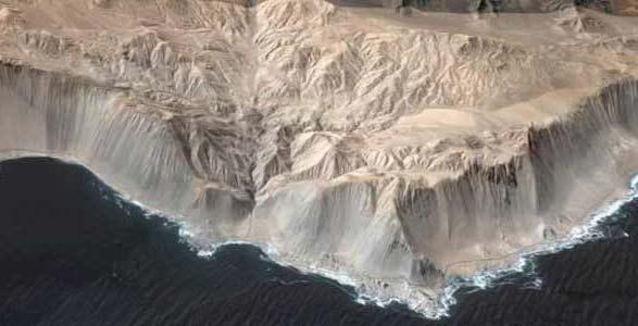 Coastline of Chile