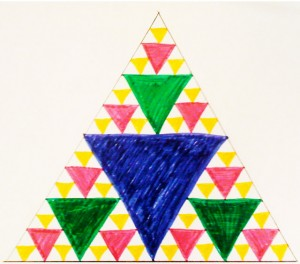 Worksheets Sierpinski Triangle Worksheet fractal triangle foundation continue this process for as long you like creating triangles in factors of three 81 243 or even 729 use the student worksheet to explore mat