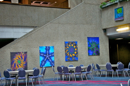 Come visit the ABQ Convention Center to see all 8 winning fractals!