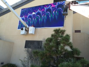 Hanging the fractal on the NM Museum of Natural History and Science