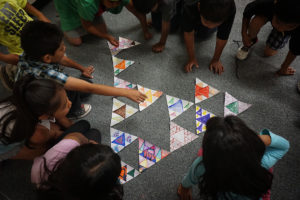 sky city community school k-2 assembling triangle sm