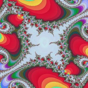 Festive Fractals show 12/8 at 7 pm!
