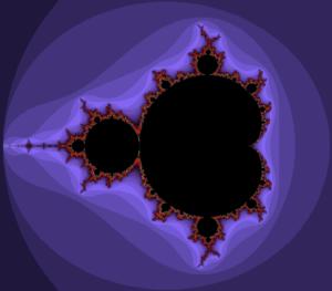 A mandelbrot fractal